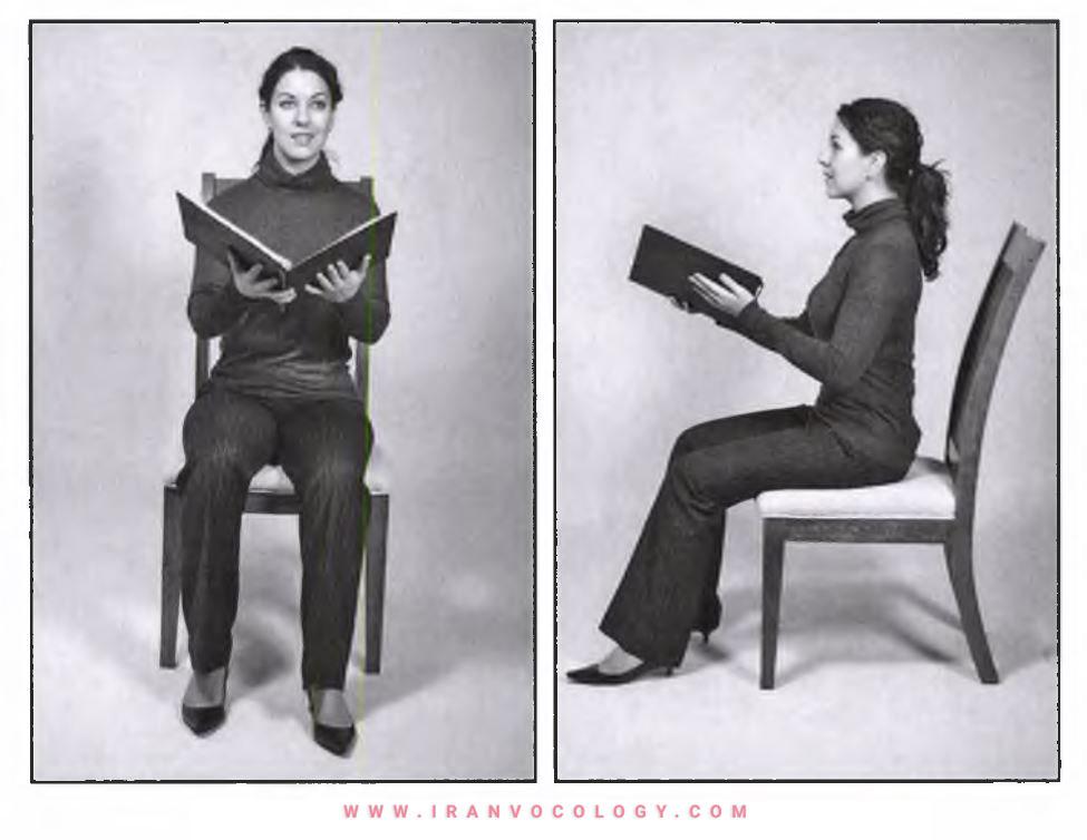 وضعیت نشستن و انواع صندلی